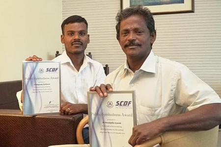 Foreign worker heroes honoured
