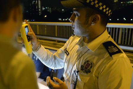 Breathalyser, Traffic Police
