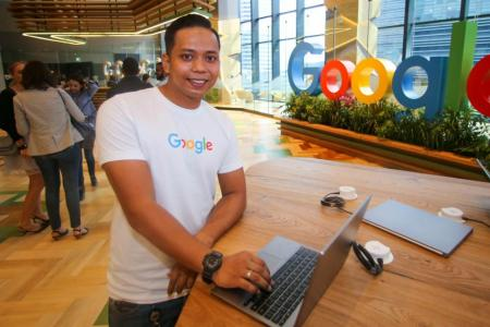 Mr Muhammad Haikal Fadly Mohamed Ariffin did not think in his 'wildest dreams' that he would get to work at Google.