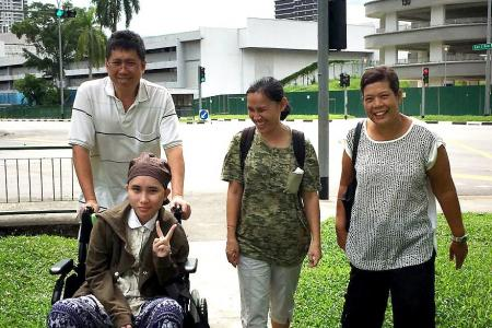 Thai teen is ready to go home
