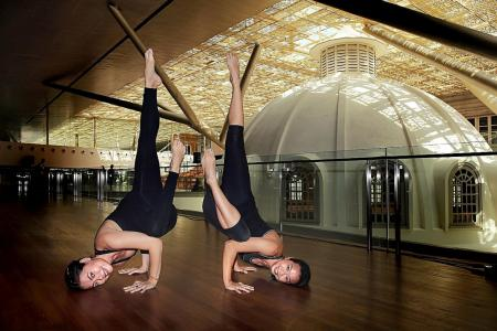 Mix yoga with art at the National Gallery for charity