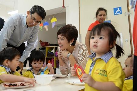 More parents put babies in infant care centres
