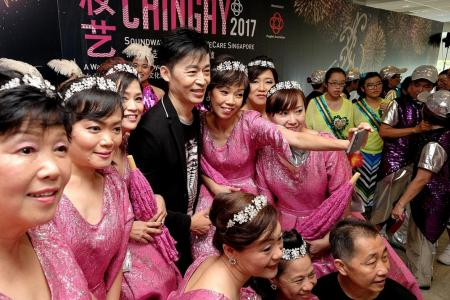 Xinyao takes centre stage in Chingay 2017