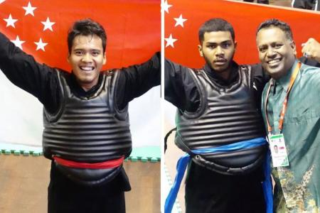 Two world silat golds for Singapore