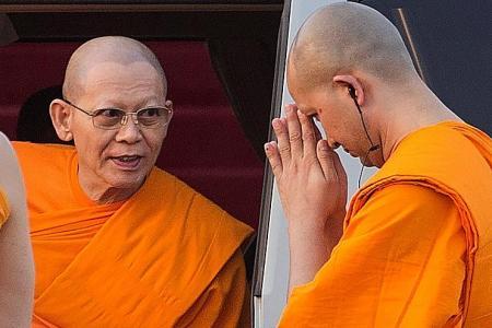 Bangkok temple under probe