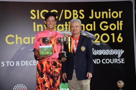 Brandon does Singapore proud at SICC junior c'ship