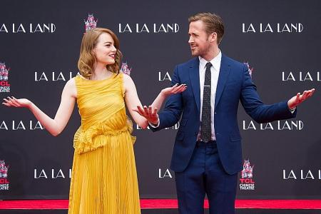 Stone, Gosling cement their mark in Hollywood
