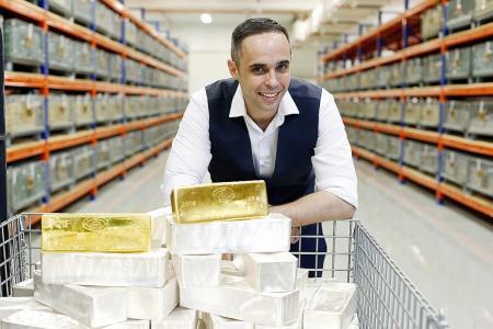Singapore, the world's gold vault