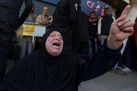 Bomb blast at Egypt Coptic cathedral kills 25