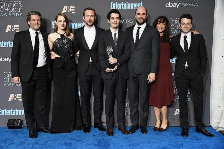 La La Land leads with 8 wins at Critics' Choice Awards