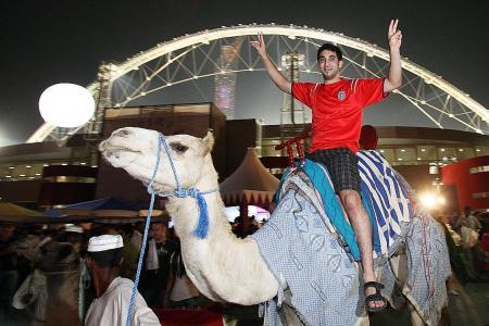 'Fifa happy with Qatar's progress'