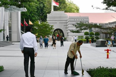 Wage boost for some of S'pore's lowest paid workers