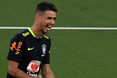 Brazilian international midfielder Oscar.