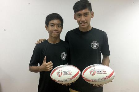 Dream training stint for duo