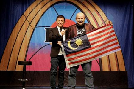 Laugh Factory Funniest Person In The World winner Harith Iskander is doctor for the soul