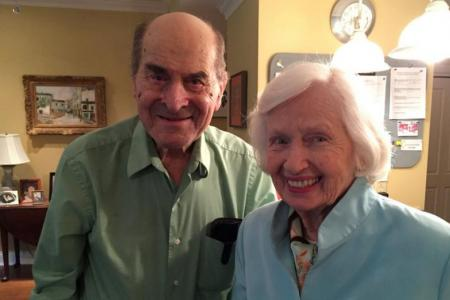 Dr Henry Heimlic (left) died at a nursing home in Cincinnati, Ohio following a heart attack.