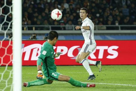 Ronaldo to the rescue