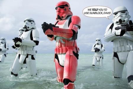 stormtroopers, spring break, scariff, star wars, rogue one, Darth Vader, Director Krennic, Kylo Ren , Rey