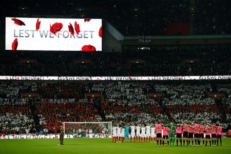 British FAs fined over poppy displays