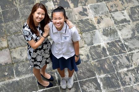 She meets teachers, friends who help her