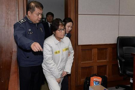 Choi denies fraud charges on first day of trial