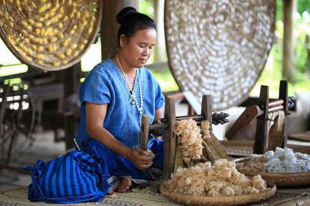 All about Thai loincloth, Isaan lifestyle