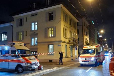 Three hurt in attack on Muslim prayer hall in Zurich