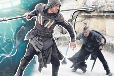 Michael Fassbender: Making Assassin's Creed was 'baptism by fire'