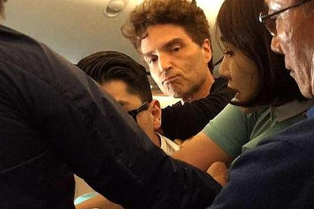 Rowdy Korean Air Passenger Finds Crooner Right Here Waiting