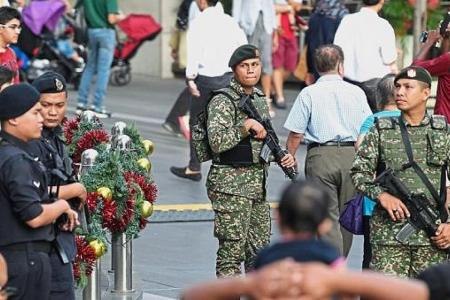 Security stepped up in region