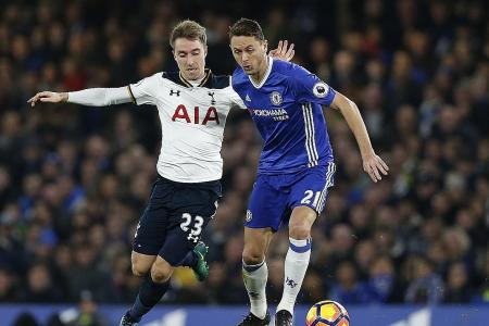 Eriksen: Chelsea not much better than us