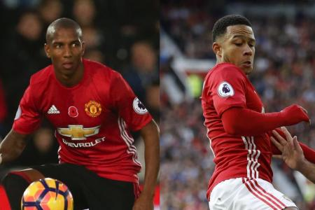 Jose Mourinho admits he feels bad about not giving some members of his squad like Memphis Depay (right) and Ashley Young a fair chance to prove themselves to him.