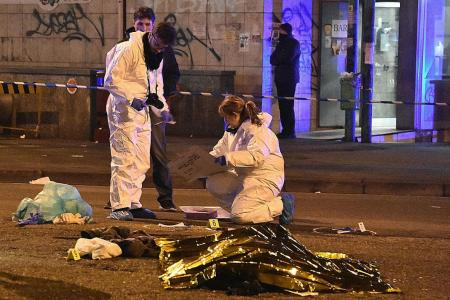 Berlin attack suspect shot dead