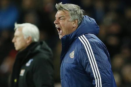 Big Sam the early favourite
