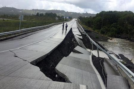 Tsunami warnings issued after 7.7-magnitude quake strikes Chile