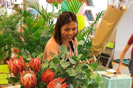 Flower power to improve women's lives