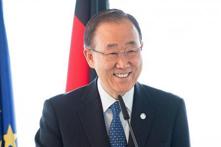 UN chief Ban denies allegation of taking bribes in 2002