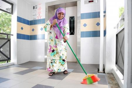 She helps her neighbours out without expecting reward