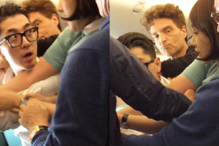Singer Richard Marx made the news for for helping to restrain a violent passenger on board a Korean Air flight last week.