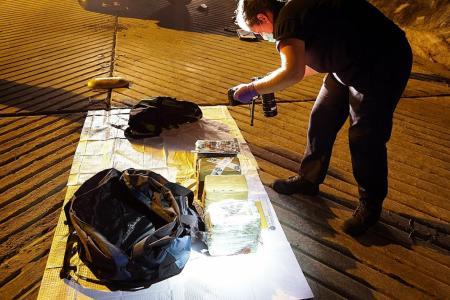 Record 1.1 tonnes of cocaine seized in Australia