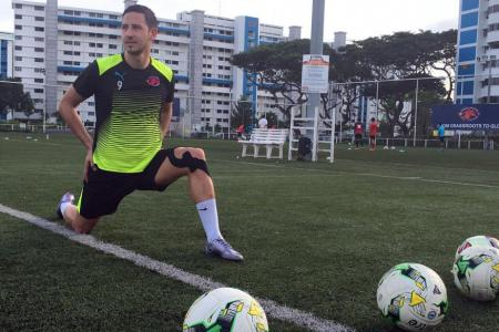 New Home United signing Stipe Plazibat scored 16 goals in 28 games for Hougang United in his debut S.League season.