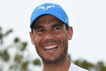 Nadal's Grand Slam hope no fishing expedition A true diehard of Singapore football