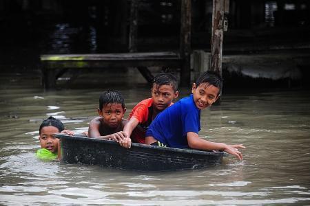 Floods cause havoc in Thailand