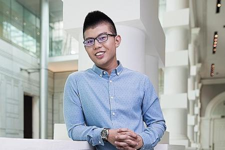 Choosing ITE pays off for award-winning student
