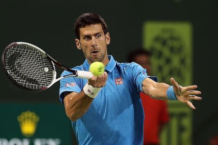 Djokovic survives scare in Doha