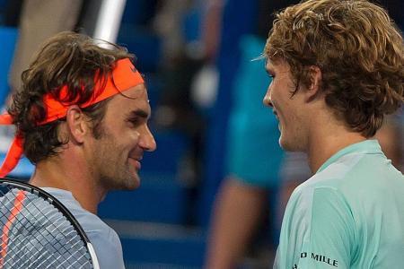 Federer stunned by German teen