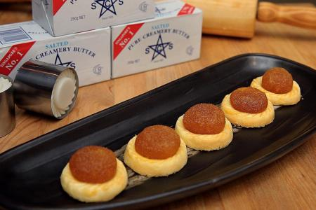 The perfect pineapple tarts this Lunar New Year.