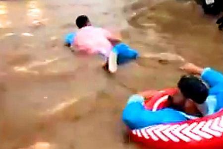 Unusual heavy rains hit nine provinces along Thai south, six dead