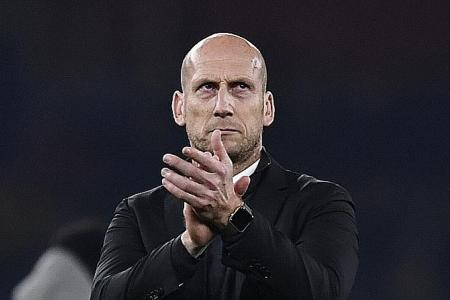 Jaap wants to Stam his mark