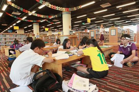 No lack of free study spaces, yet many willing to pay